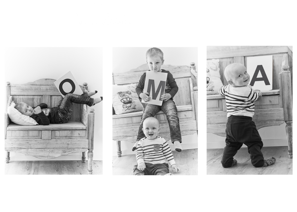 Oma Babyfoto fotoshooting kinder
